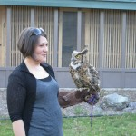 Jayme and Theo - Great Horned Owl